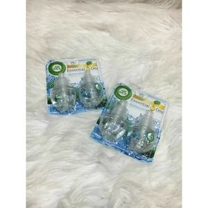 2 Air Wick Scented Oil Refills Fresh Waters